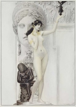 Gustav Klimt, Allegory of Sculpture, 1889© MAK/Georg Mayer