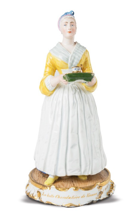 <BODY>La belle Chocolatière de Vienne [The Viennese Chocolate Girl]</BODY>