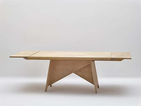 <BODY>Rudolph M. Schindler, Dining table for Beata Inaya's apartment in Los Angeles</BODY>