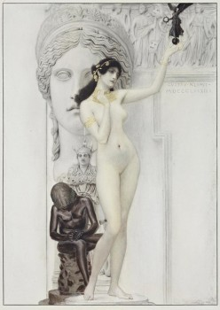 Gustav Klimt, Allegory of Sculpture