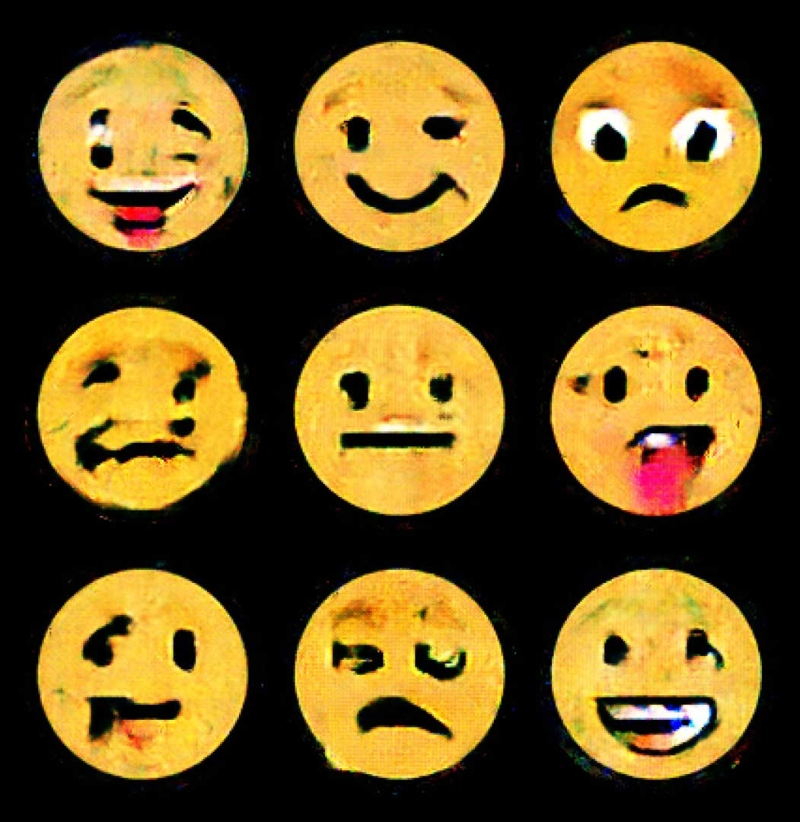 With artificial intelligence generated Emojis © Process Studio