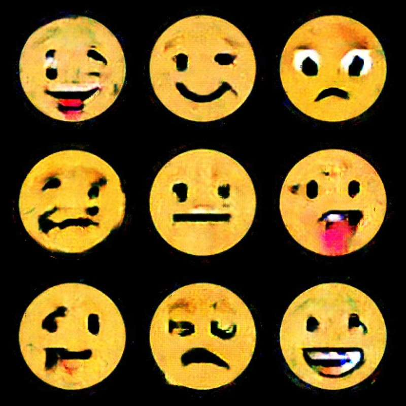 Process Studio, AImojis, 2019 Emojis generated by artificial intelligence © Process Studio