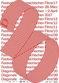 Diagonale – Festival des österreichischen Films, Atelier: Studio Es; Grafik: Verena Panholzer (Art Direction), David Einwaller (Junior Art Direction)