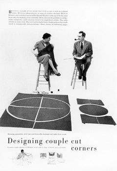 "Ferdinand & Beatrice Kramer, ""Designing Couple Cut Corners"""