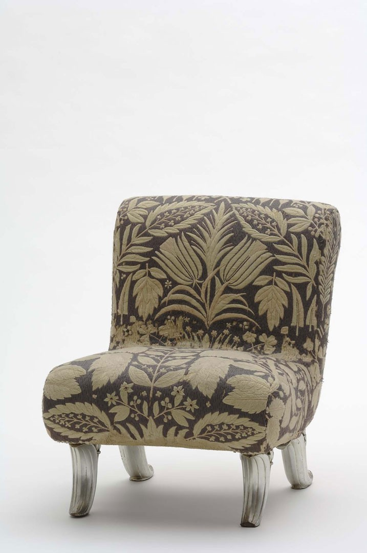 <BODY><div>Josef Hoffmann, Upholstered chair from the Boudoir d'une grande vedette [Boudoir for a Big Star], Paris World's Fair, 1937</div><div>© MAK/Georg Mayer</div><div> </div></BODY>