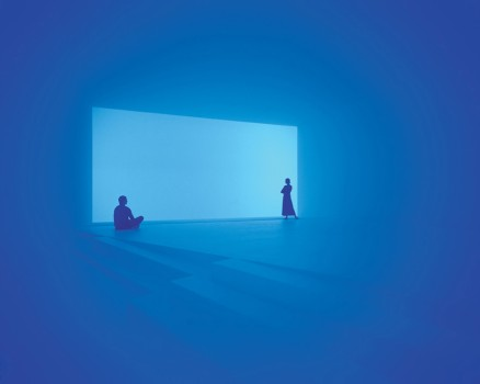 Exhibition view, JAMES TURRELL. The other Hoizon