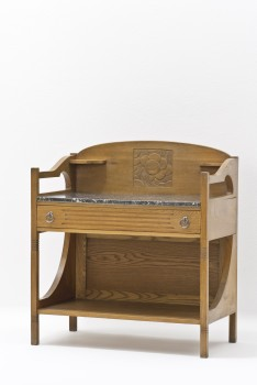 Sigmund Jaray, WASHSTAND from the living room furnishings of a married worker