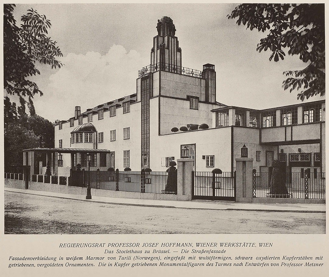 <BODY><div>Josef Hoffmann, Façade of Stoclet House, Brussels, 1914</div><div>© MAK</div><div> </div></BODY>