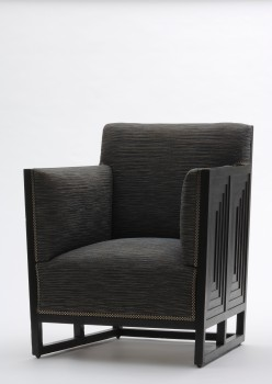 Josef Hoffmann, CLUB CHAIR from the apartment furnishings for Hermann Wittgenstein