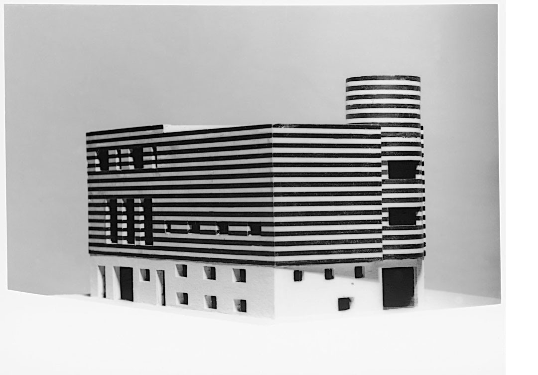 <BODY>Adolf Loos, House for Josephine Baker, Paris XVI, Avenue Bugeaud, France (project to convert and connect two existing houses), 1927 Model © ALBERTINA, Vienna </BODY>