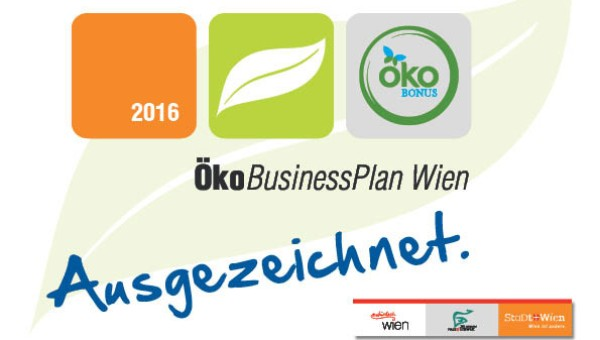 MAK wins ÖkoBusinessPlan Wien award