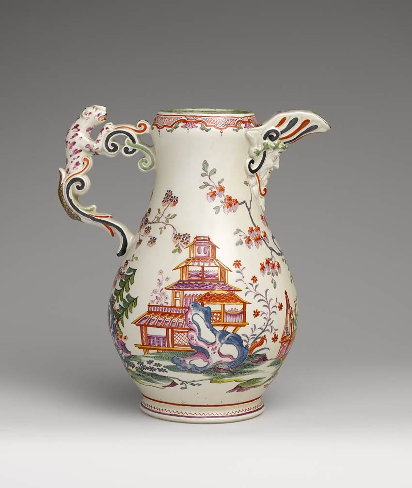 Jug with Handle, Du Paquier Manufactory