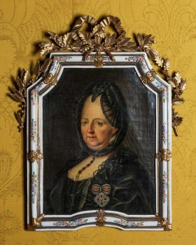 Bildnis der Maria Theresia in Witwentracht