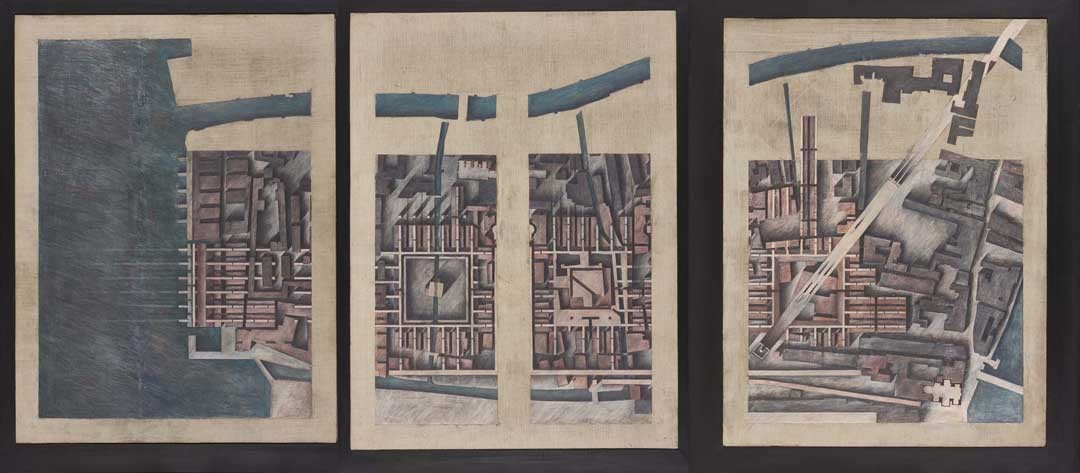 <BODY>Raimund Abraham, Nine Projects for Venice. City of Twofold Vision, 1980</BODY>