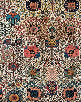 Carpet with Vases (detail)
