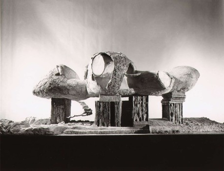 Frederick Kiesler, Model for an Endless House, 1959