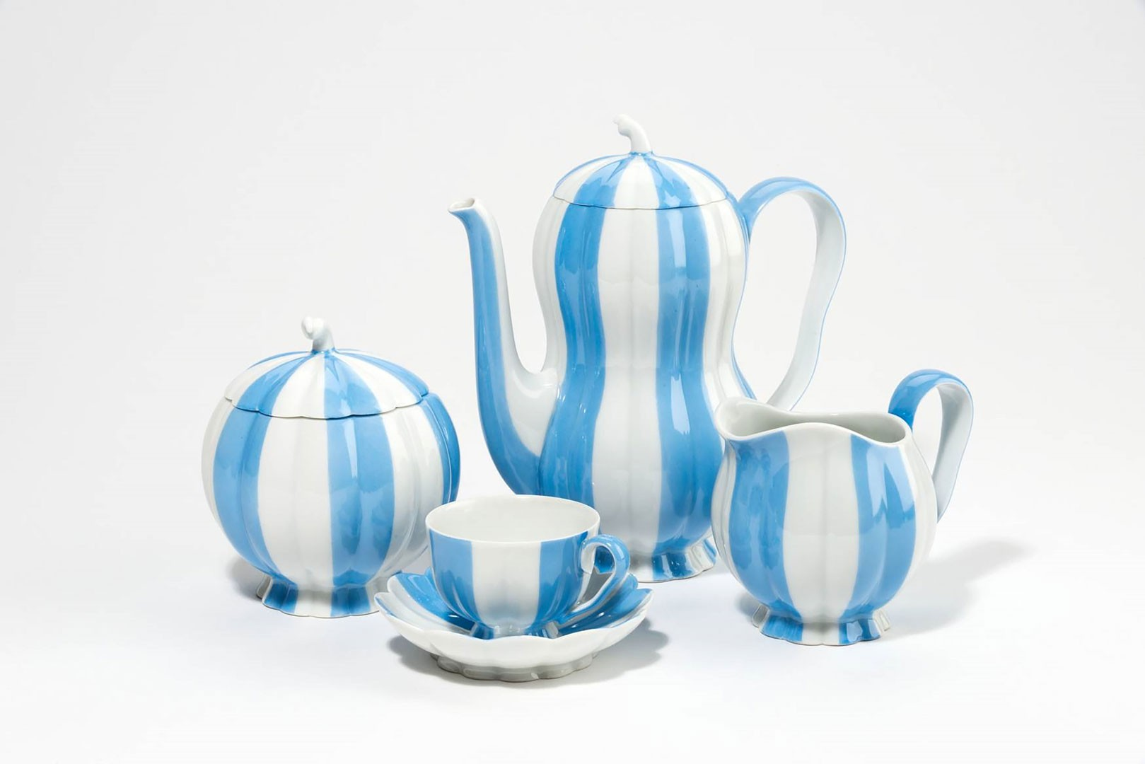 "<BODY><div>Josef Hoffmann, Porcelain set ""Melon"" [Melon] for the Augarten Porcelain Manufactory, 1931</div><div>© MAK/Katrin Wißkirchen</div><div> </div></BODY>"
