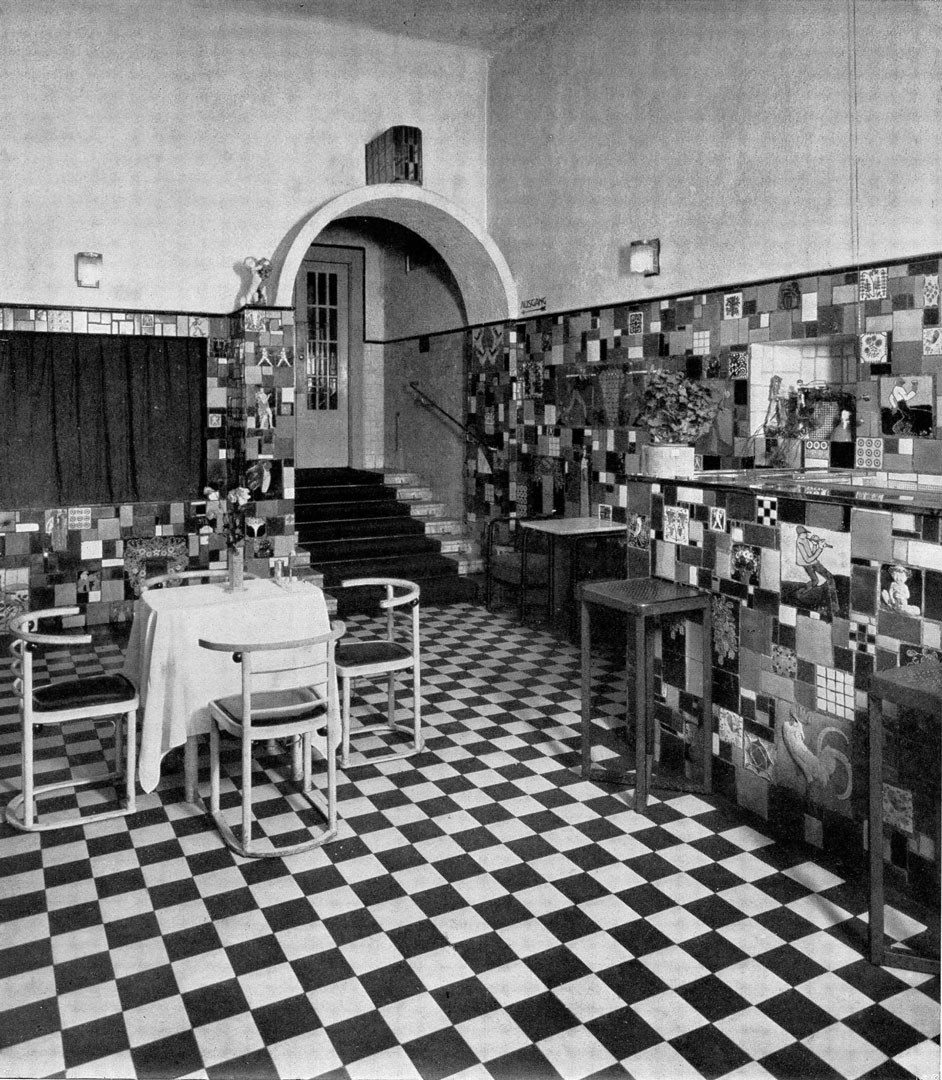<BODY><div>Josef Hoffmann, Barroom at Cabaret Fledermaus, Vienna, 1907</div><div>© MAK</div><div> </div></BODY>