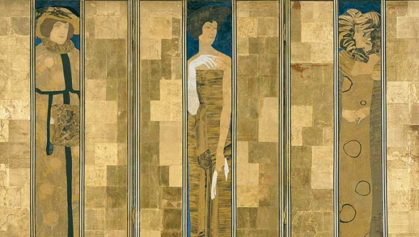 Koloman Moser, Screen, 1906 Execution: Karl Beitel, Therese Trethan © MAK/Georg Mayer