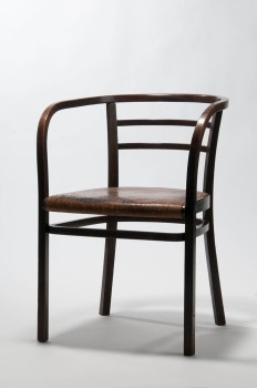 Otto Wagner, Armchair for the Austrian Postal Savings Bank in Vienna, 1904–1906