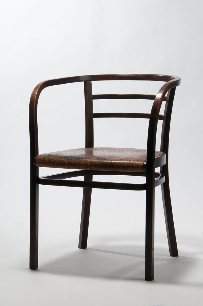 <BODY>Otto Wagner, Armchair for the Austrian Postal Savings Bank in Vienna, 1904–1906<br /></BODY>