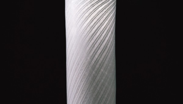 CYLINDRICAL GLASS WITH LID