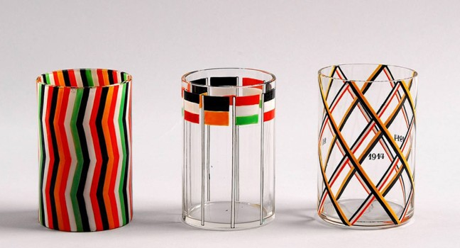 Josef Hoffmann, War Glasses