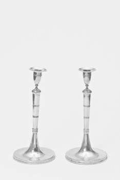 Two candelabra