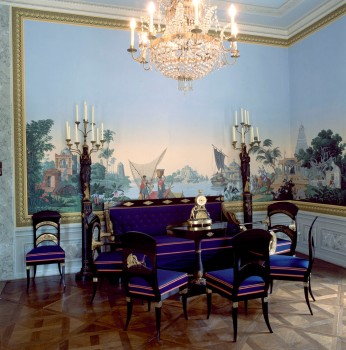 View of the drawing-room in the Geymüllerschlössel