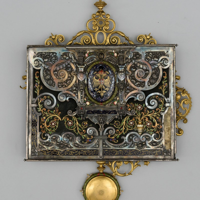 The Ornamental Box Created for Nikolaus DumbaOrnamental Box Created for Nikolaus Dumba