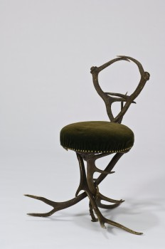 ANTLER CHAIR FROM THE IMPERIAL HUNTING LODGE IN NEUBERG/MÜRZ