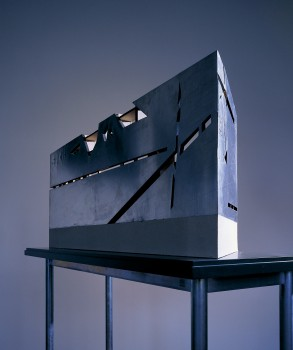 Daniel Libeskind, Main staircase-facade study model