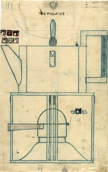 Josef Hoffmann: Draft for a Samovar