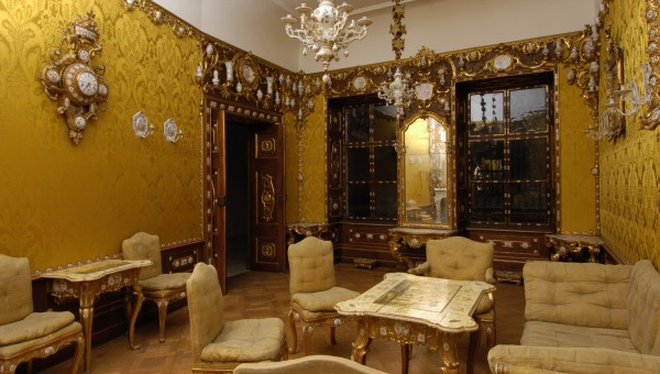PORCELAIN ROOM FROM DUBSKY PALACE IN BRNO