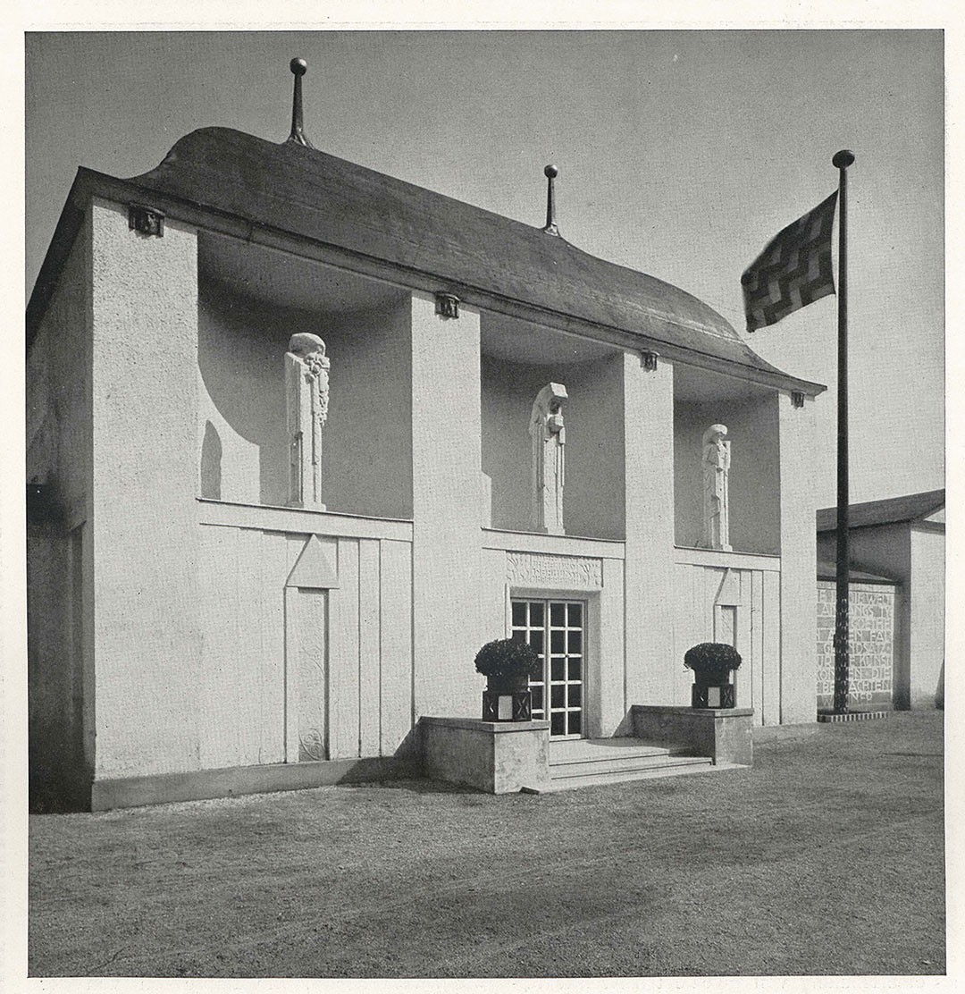 <BODY><div>Josef Hoffmann, Entrance pavilion at the Vienna Kunstschau, 1908</div><div>© MAK</div><div> </div></BODY>