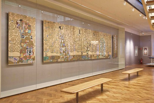 MAK Permanent Collection  Vienna 1900, Gustav Klimt, Nine Drawings for the Execution of a Frieze for the Dining Room of Stoclet House in Brussels, 1910/11 © MAK/Georg Mayer