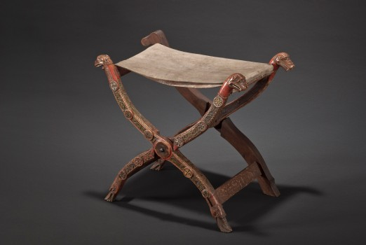 FOLDING STOOL FROM THE ABBEY OF ADMONT
