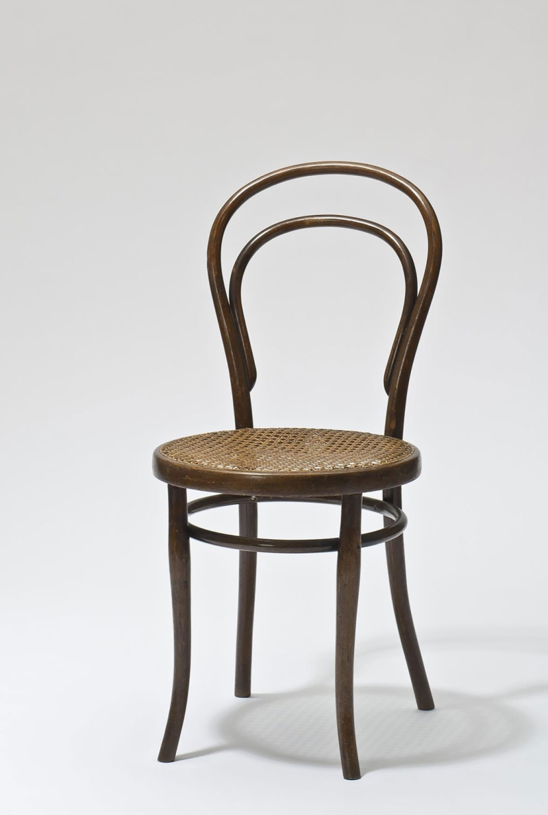 BENTWOOD AND BEYOND: Thonet and Modern Furniture Design Thonet Brothers, Chair, model no. 14, Vienna, 1859 (execution: 1890–1918)  © MAK/Georg Mayer