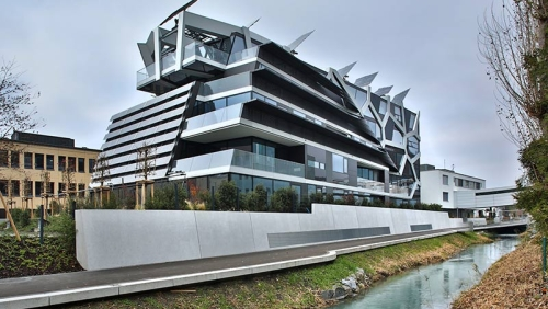 falkeis2architects, active energy building Foto © R. Korner