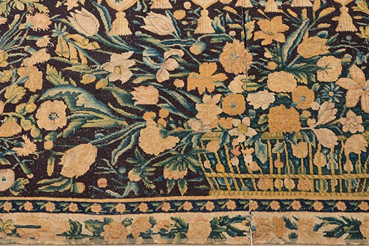 Savonnerie-Table Carpet with Flowers (detail)