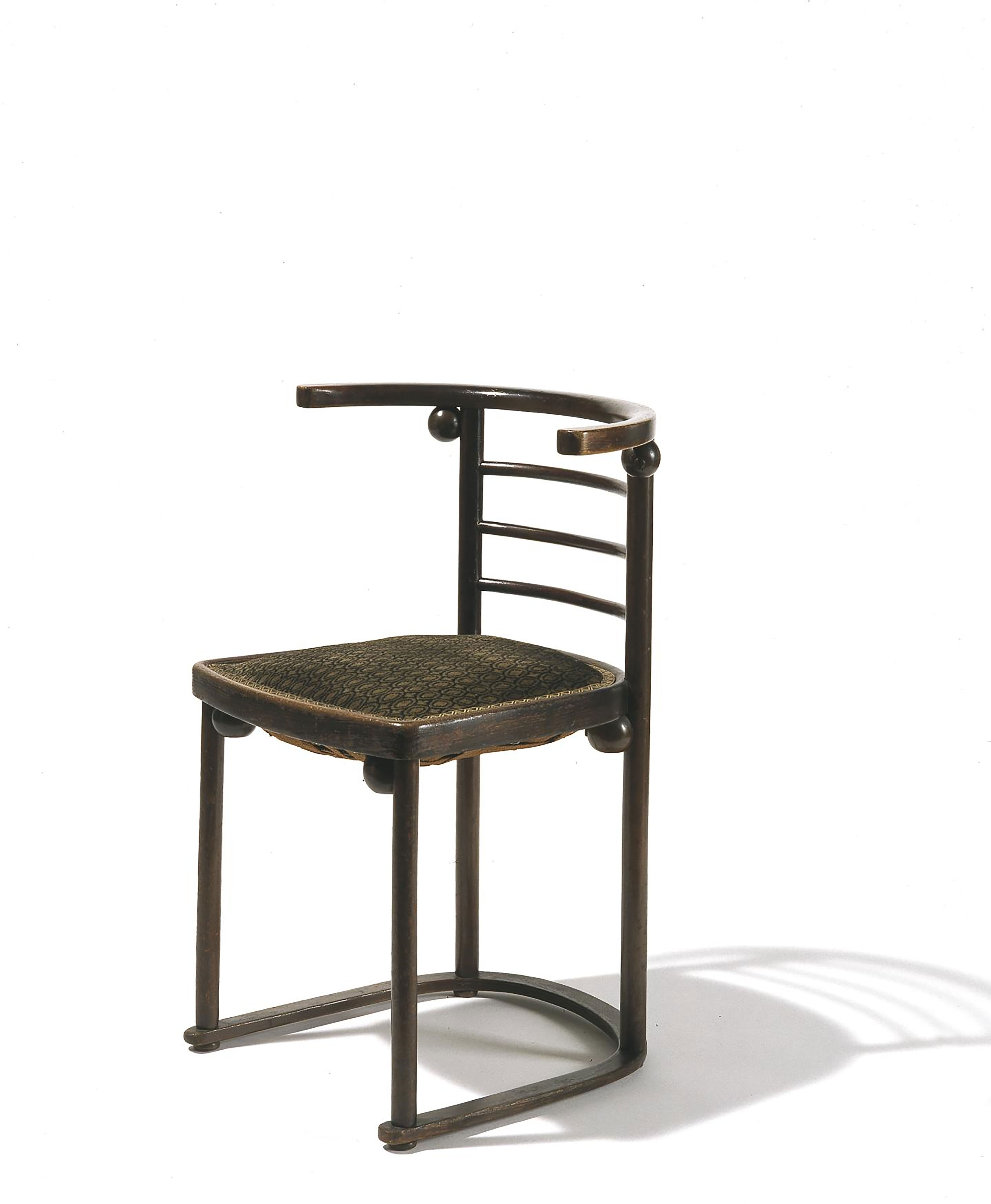 <BODY><div>Josef Hoffmann, Fauteuil from Cabaret Fledermaus, chair, model no. 728, J. & J. Kohn, bentwood, 1907</div><div>© MAK/Georg Mayer</div><div> </div></BODY>