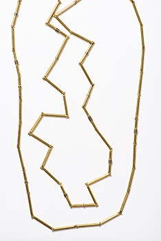 Peter Skubic, Necklace Straw Necklace