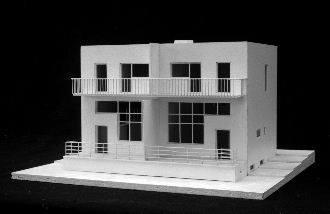 <BODY><div>Adolf Loos and Heinrich Kulka, Duplex in the Werkbundsiedlung, Vienna's 13th district, Woinovichgasse 13, 15, 17, 19, 1930–1932 </div><div>Model: Prof. Hans Puchhammer, TU Wien</div><div> </div></BODY>