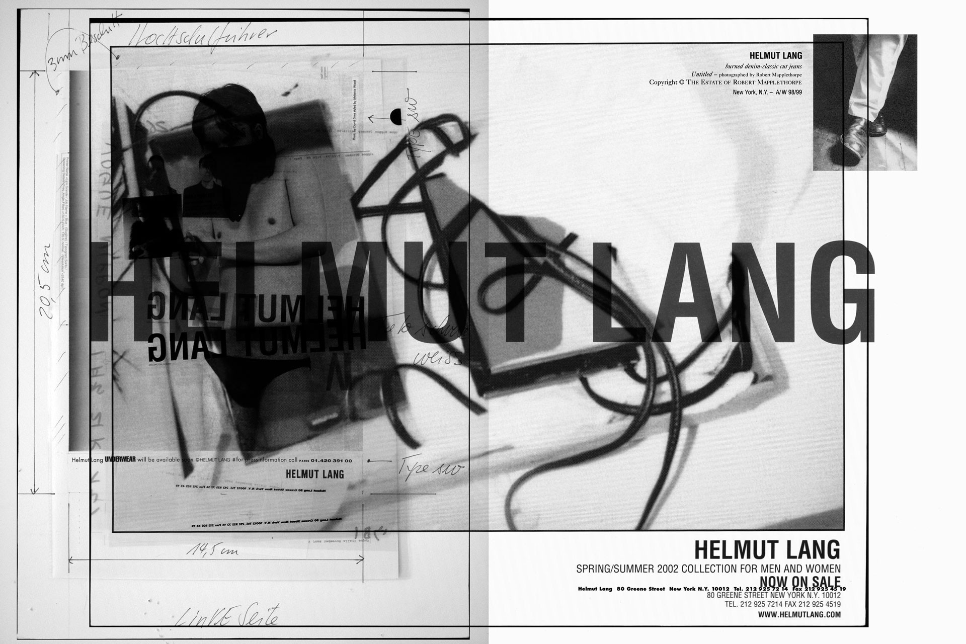 <BODY>Helmut Lang, Excerpts from the Selective Memory Series, Special Edit, 2020<br />© HL-ART</BODY>