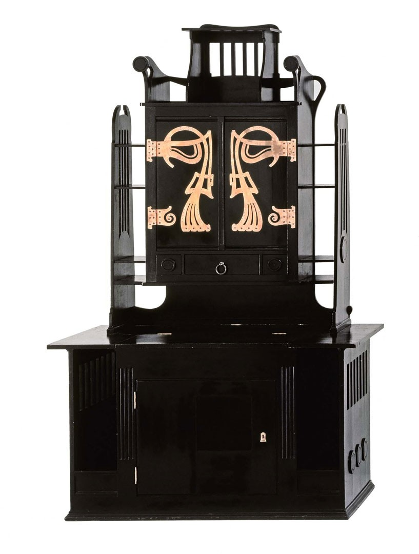 <BODY>Josef Hoffmann, Atelier cabinet from Koloman Moser's studio furniture, 1898<br />© MAK/Georg Mayer<br /><br /></BODY>